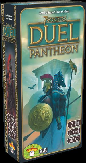 7 Wonders Duel – Extension – Panthéon