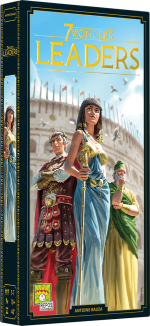 7 Wonders Seconde Édition – Extension – Leaders