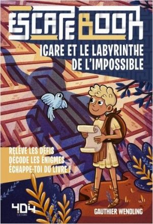 Escape Book Jr – Icare et le labyrinthe de l'impossible