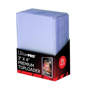 "Ultra Pro – Top Loader – ""Super Clear Premium"" Standard 63.5 x 88.9mm par 25"
