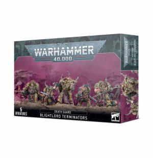 Warhammer 40 000 – Chaos Space Marines – Blightlord Terminators