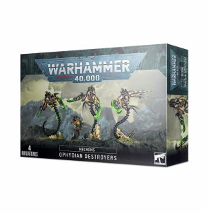 Warhammer 40 000 – Necron – Destroyers Ophydiens