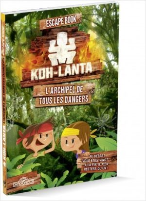Escape Book Jr – Koh-Lanta – L'Archipel de Tous les Dangers