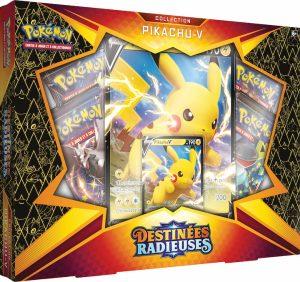 Pokémon – Coffret – EB04.5 Destinée Radieuse – Pikachu V