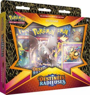 Pokémon – Coffret Pins – EB04.5 Destinée Radieuse – Dedenne