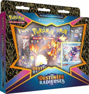 Pokémon – Coffret Pins – EB04.5 Destinée Radieuse – M. Glaquette