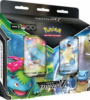 Pokémon – Deck Combat-V – Florizarre V vs Tortank V
