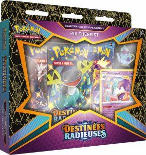Pokémon – Coffret Pins – EB04.5 Destinée Radieuse – Polthégeist