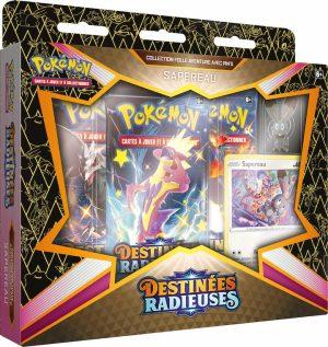 Pokémon – Coffret Pins – EB04.5 Destinée Radieuse – Sapereau