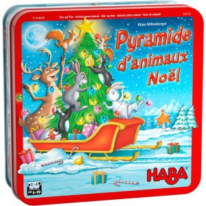 Pyramide d'animaux Noël