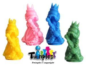 Twinples Kingdomino – Les Quatre Rois