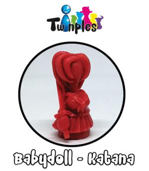 Twinples – Babbydoll Katana