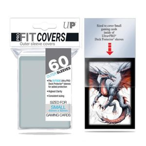 Ultra Pro – Sleeves – Small x60 – Covers – Transparent