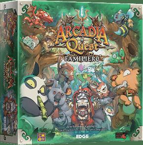 Arcadia Quest – Extension – Familiers