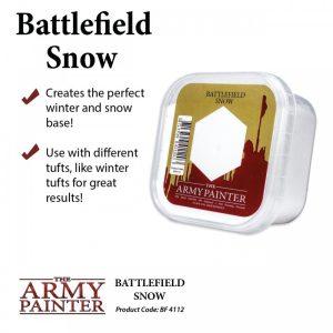 Army Painter – Décor – Battlefield Snow