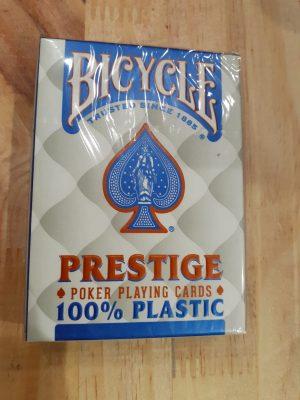 Bicycle Prestige 100% Plastique Bleu