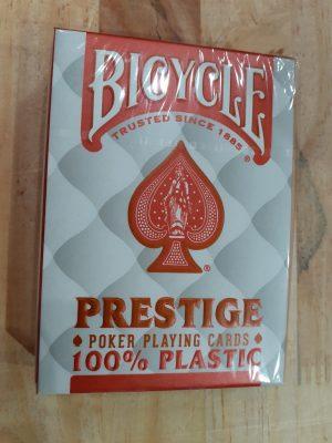 Bicycle Prestige 100% Plastique Rouge