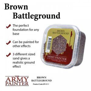 Army Painter – Décor – Brown Battleground
