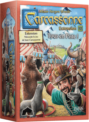 Carcassonne – Extension 10 – Tous en Piste !