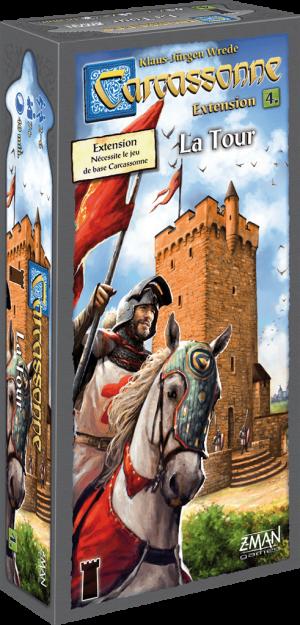 Carcassonne – Extension 4 – La Tour