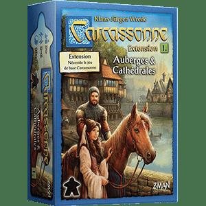 Carcassonne – Extension 1 – auberges & cathédrales