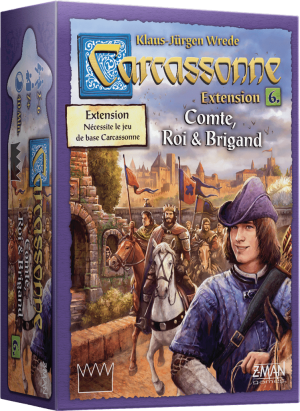 Carcassonne – Extension 6 – Comte, Roi & Brigand