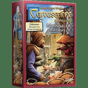 Carcassonne – Extension 2 – Marchands & batisseurs