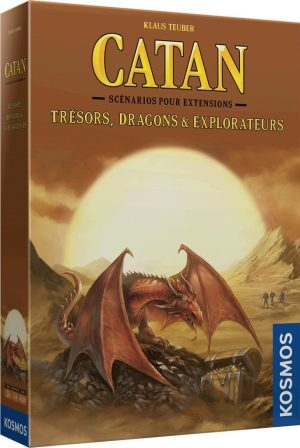 Catan – Extension – Trésors, Dragons & Explorateurs