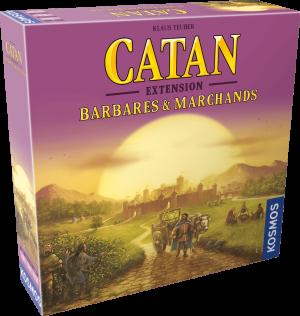 Catan – Extension – Barbares et Marchands