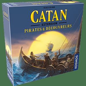 Catan – Extension – Pirates & Découvreurs