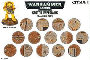 Citadel – Accessoire – Sector Imperialis – Socles ronds 32mm