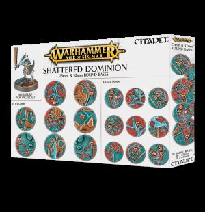 Citadel – Accessoire – Shattered Dominion – Socles ronds 25 et 32mm