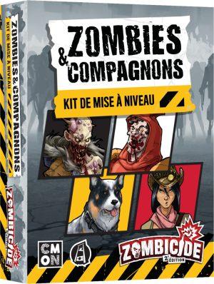 Zombicide – Zombies & Compagnons (Mise à Niveau)