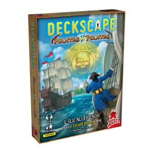 Deckscape – Equipage Contre Equipage : L'Ile des Pirates