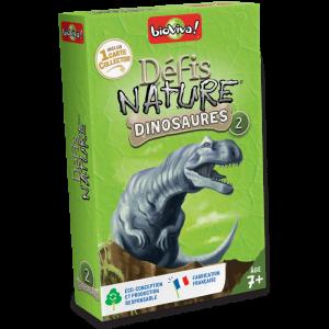 Défis nature – Dinosaures 2 vert