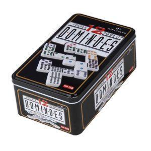 Dominos Double 12 – Boîte Métal