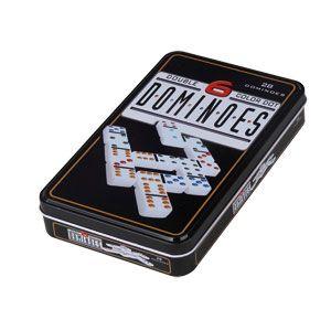 Dominos Double 6 – Boîte Métal