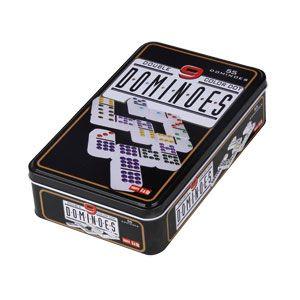 Dominos Double 9 – Boîte Métal