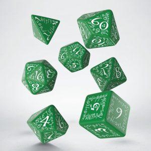 Q Workshop – Set de 7 dès – Elvish