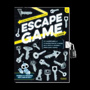 Escape Game Jr – 3 aventures : la malédiction de la momie, qui a volé la Joconde?, piégés dans l'espace