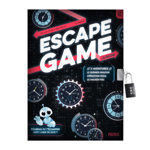 Escape Game Jr – 3 aventures : le dernier dragon, opération pizza et le hacker fou