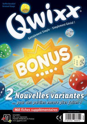 Qwixx – Bonus (Bloc de Score)