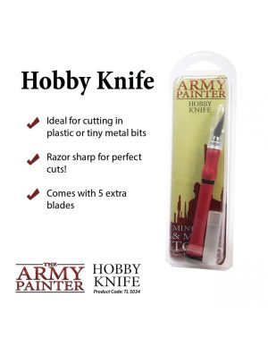 Army Painter – Outils – Hobby Knife