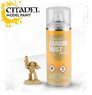 Citadel – Peinture Spray – Sous Couche – Zandri Dust (400ml)