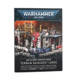 Warhammer 40 000 – Battle Zone Manufactorum : Datasheet Cards (français)