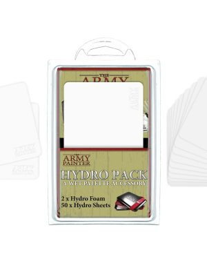 Army Painter – Outils – Hydro Pack (50 feuilles et 2 foams)