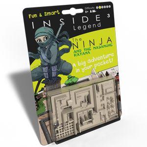 Inside – Legend Vert – The Ninja and the Masamune Katana