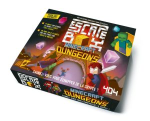 Escape Box Minecraft Dungeon