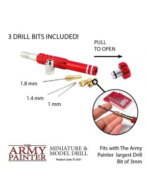 Army Painter – Outils – Miniature and Model Drill