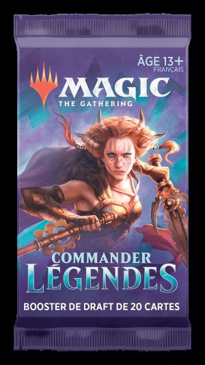 MTG – Booster – Commander Légendes